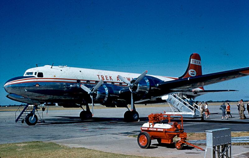 Douglas DC-4 Skymasters of Trek Airways ZS-CIG and ZS-CIH